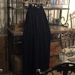 Old Navy black maxi dress size XL
